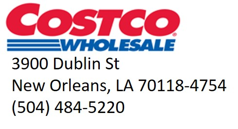 Costco Wholesale--Eighth Note Sponsor