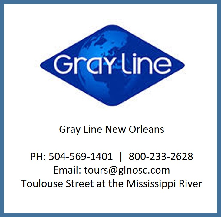 Gray Line New Orleans    Quarter Note