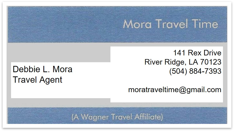 Mora Travel Time - Eight Note Sponsor