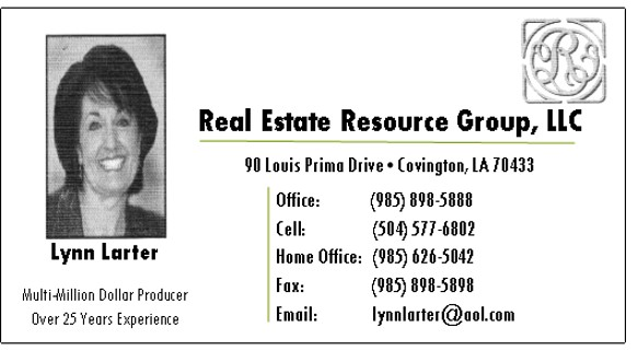 Real Estate Resource Group, LLC - Eigth Note Sponsor
