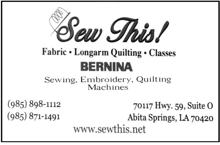 Sew This! - Eighth Note Sponsor
