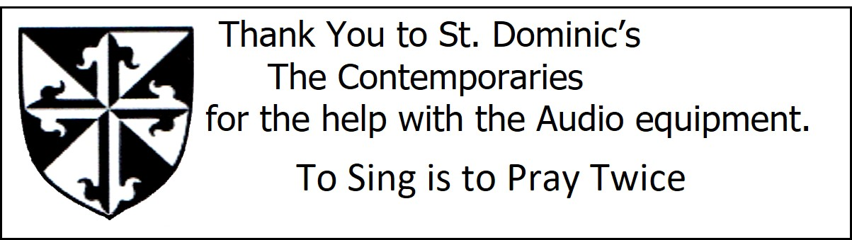 St. Donimic's The Contemporaries - Eighth Note Sponsor