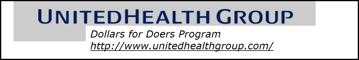 United Health Group  Whole Note Sponsor